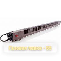 Плинтусный обогреватель МЕГАДОР Стандарт MR150 BL (Коричневый, подкл.слева, конвектор)