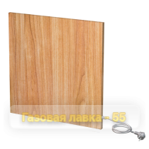 Настенные панельные ИК обогреватели odo250 wood - 590x590x20