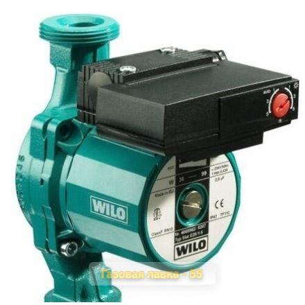 Циркуляционный насос Wilo STAR-RS25/7 с гайками