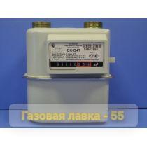 Счетчик газа бытовой BK G4Т диафрагменный