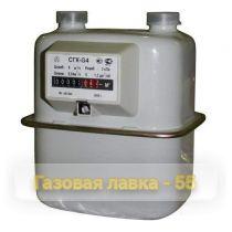 Счетчик бытовой СГК G1,6; G2,5; G4 камерный (г. Владимир)