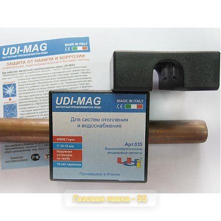 Магнитный преобразователь воды UDI-MAG проточного типа, арт. 035 (Италия)